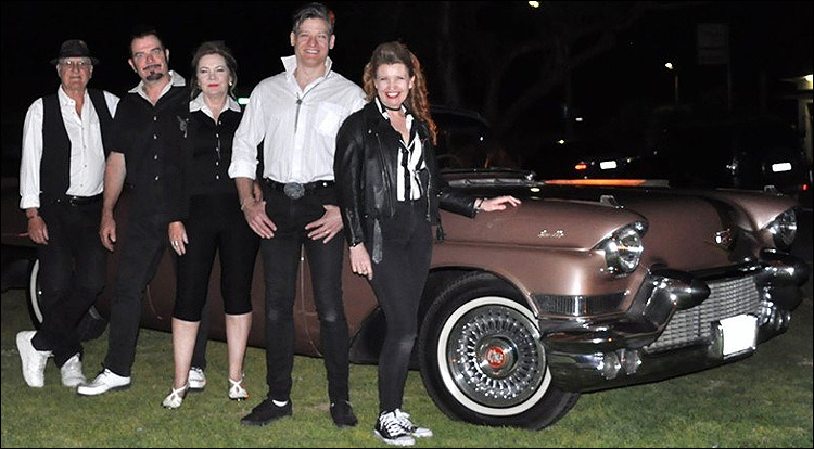 The Cadillacs Adelaide Aug 2019.