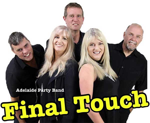 Final Touch Adelaide Party Band.