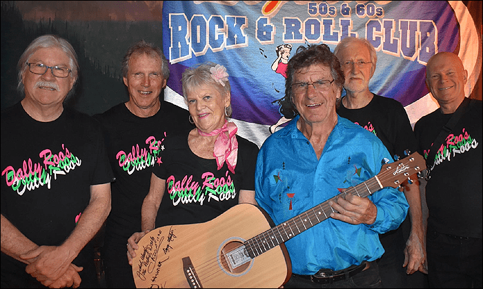 bobby hunter and the rockin dallyroos at legends 2021